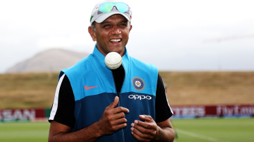 Rahul Dravid at the Under-19 World Cup