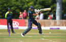 Amy Jones drives off the back foot, England v New Zealand, 2nd Women's ODI, Derby, July 10, 2018