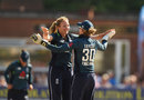 Katie George claimed early wickets for England, England v New Zealand, 2nd Women's ODI, Derby, July 10, 2018