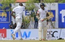 Kagiso Rabada sends back Danushka Gunathilaka, Sri Lanka v South Africa, 1st Test, Galle, 1st day, July 12, 2018