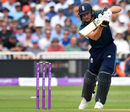 Jos Buttler lays into a fluid cover drive, England v India, 1st ODI, Nottingham, July 12, 2018