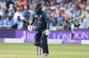 Adil Rashid lost his bat while contributing useful runs, England v India, 1st ODI, Nottingham, July 12, 2018