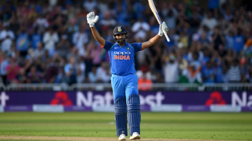 Rohit Sharma revels in his century celebrations