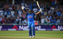 Rohit Sharma revels in his century celebrations, England v India, 1st ODI, Nottingham, July 12, 2018