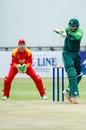 Imam-ul-Haq ventures a pull, Zimbabwe v Pakistan, 1st ODI, Bulawayo, July 13, 2018