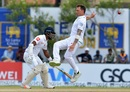Dale Steyn leaps to stop a ball from going past him, Sri Lanka v South Africa, 1st Test, Galle, 2nd day, July 13, 2018