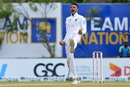 Keshav Maharaj gets a breakthrough for the visitors, Sri Lanka v South Africa, 1st Test, Galle, 2nd day, July 13, 2018