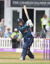 Tammy Beaumont drives through the leg side, England v New Zealand, 3rd Women's ODI, Leicester