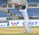 Tamim Iqbal hits through the off side, West Indies v Bangladesh, 2nd Test, Jamaica, 2nd day, July 13, 2018