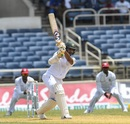 Shakib Al Hasan struck a brisk 32, West Indies v Bangladesh, 2nd Test, Jamaica, 2nd day, July 13, 2018