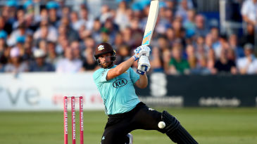 Aaron Finch brought Sussex to their knees