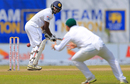 Angelo Mathews edges towards the slip cordon, Sri Lanka v South Africa, 1st Test, Galle, 3rd day, July 14, 2018