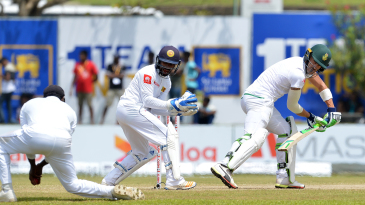 Faf du Plessis was caught at slip