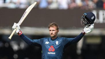 Joe Root made his 12th ODI hundred