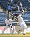 Shannon Gabriel was bowled attempting a big hit, West Indies v Bangladesh, 2nd Test, Jamaica, 3rd day, July 14, 2018