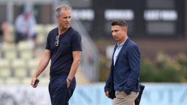 England selectors, Ed Smith and James Taylor