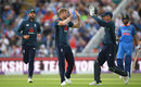 David Willey claimed the opening wicket, England v India, 3rd ODI, Headingley, July 17, 2018