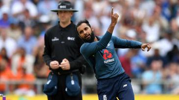 Adil Rashid bowled Virat Kohli with sharp legbreak