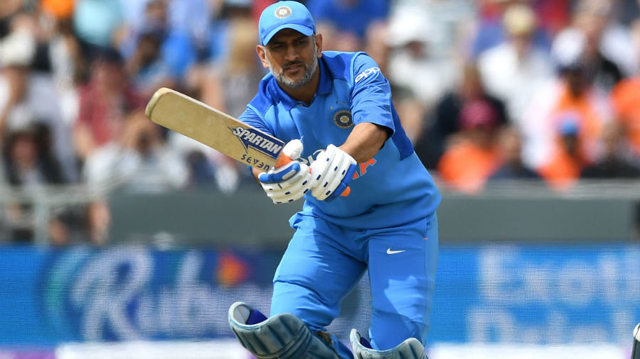 MS Dhoni made a 66-ball 42