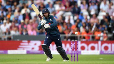 James Vince was making his first ODI appearance in almost two years