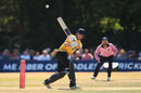 Miles Hammond bats for Gloucestershire against Middlesex, Vitality Blast, July 8, 2018