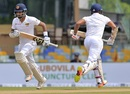 Dimuth Karunaratne and Danushka Gunathilaka run between the wickets, Sri Lanka v South Africa, 2nd Test, Colombo, 1st day, July 20, 2018