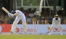Roshen Silva was bowled by a Kagiso Rabada yorker, Sri Lanka v South Africa, 2nd Test, Colombo, 1st day, July 20, 2018