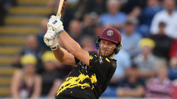 Corey Anderson was in destructive mood