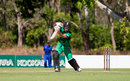 David Warner bats for City Cyclones at the NT Strike League, Darwin, July 21, 2018