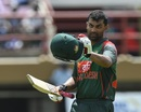 Tamim Iqbal laboured to a century, West Indies v Bangladesh, 1st ODI, Guyana, July 22, 2018