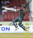 Shakib Al Hasan featured in his second double-century stand in ODIs, West Indies v Bangladesh, 1st ODI, Guyana, July 22, 2018