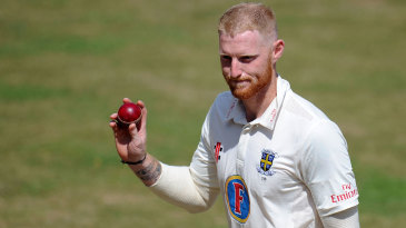 Ben Stokes claimed a five-wicket haul
