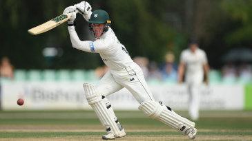 Luke Wood contributed a battling innings