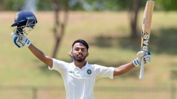 Atharwa Taide celebrates a hundred