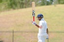 Pavan Shah scored an unbeaten hundred on the 1st day, Sri Lanka v India, 2nd Youth Test, Hambantota, 1st day, July 24, 2018