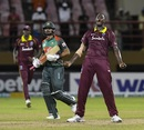 Jason Holder exults after West Indies' last-over win, West Indies v Bangladesh, 2nd ODI, Guyana, July 25, 2018