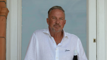 Sir Ian Botham at the launch of Botham Wines