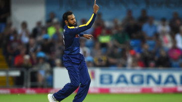 Adil Rashid ended a tumultuous week in wicket-taking form