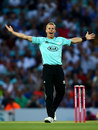 Tom Curran was in the wickets on his comeback from injury, Surrey v Somerset, Vitality Blast, The Oval, July 27, 2018