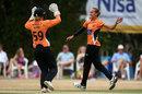 Tash Farrant celebrates a wicket