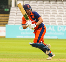 Ryan ten Doeschate flicks through the leg side, Nepal v Netherlands, MCC Tri-Series, July 29, 2018