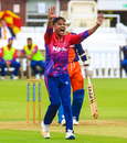 Sandeep Lamichhane roars a strong appeal for lbw, Nepal v Netherlands, MCC Tri-Series, Lord's, July 29, 2018