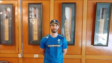 Pieter Malan is part of the South Africa A squad that is touring India