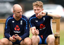 Jack Leach and Dom Bess trained with the Test squad, Edgbaston, July 30, 2018
