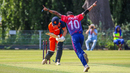 Sompal Kami strikes for Nepal's first wicket in ODI cricket
