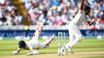 Joe Root's dive couldn't save him from being run out