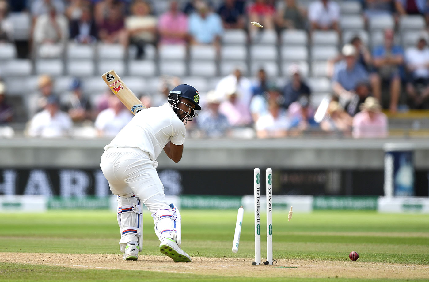 England v India: second Test, day two