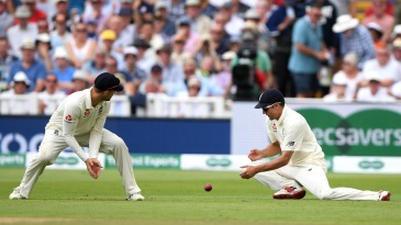 Alastair Cook's dropped catch handed Hardik Pandya a second life