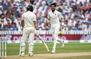 Ishant Sharma roars after getting Dawid Malan with a beauty , England v India, 1st Test, 3rd day, Edgbaston, August 3, 2018