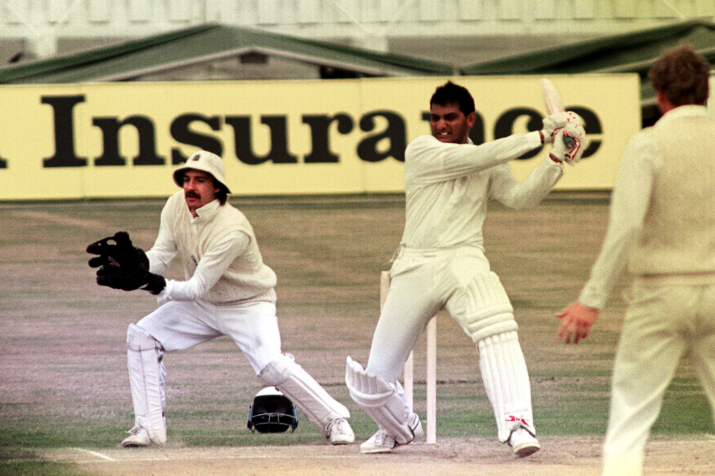 During his 179, Mohammad Azharuddin became the first Indian batsman to score a hundred runs in a session
